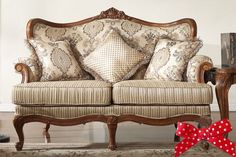 American style living room furniture, antique fabric with solid wood sofa,handcraft 3seat sofa,upholstery furniture-in Living Room Sofas from Furniture on Aliexpress.com