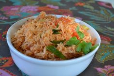 "Mexican Rice - Arroz Mexicano! ""Yum!""  @allthecooks #recipe #rice #mexican #side #dinner #easy"