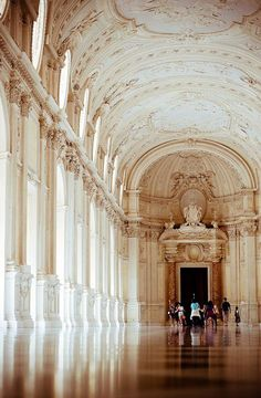 Incredibly Sublime Places to Travel to this Winter Beautiful Places...The Palace of Venaria, Turin, Italy, photo by violaklis.