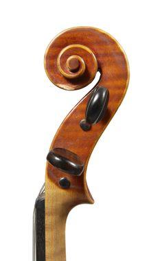 A Fine Italian Violin by G. B. Morassi, Cremona 1965