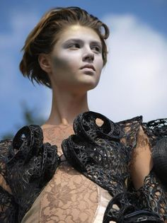 '3D Print Fashion' – Russian Runway Show Features Some of the World's Top 3D Printed Fashion http://3dprint.com/13120/3d-print-fashion-show/