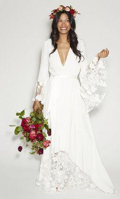 Bridechilla Style: Shop This Laid Back Bridal Trend | TheKnot.com