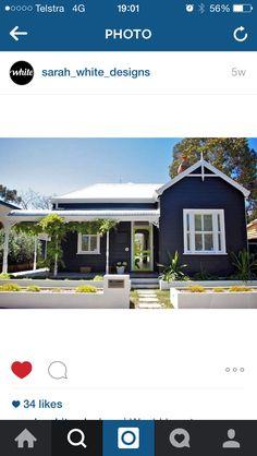 colour of the house // colour bond roof // bullnose verandah