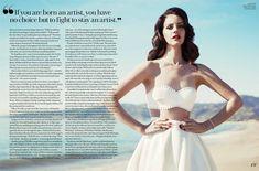 "Lana Del Rey for ""Fashion"""
