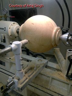 Clark Sphere Turning Jig