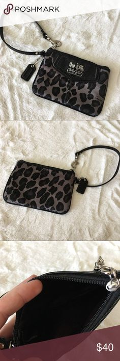 Coach Ocelot Wristlet Coach Ocelot Wristlet Coach Bags Clutches & Wristlets