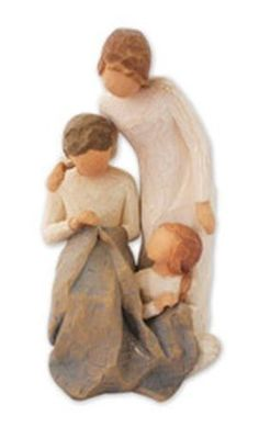 Willow Tree Grandparents With Grandchildren Figurines Collection. Willow Tree/DEMDACO figurines for grandparents, parents and families.