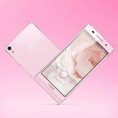 Huawei #phone #pink