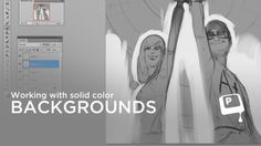 Working with Solid Color Backgrounds - Creating an illustration which sits on a solid color background can be a challenge. If your goal is to have a nice, painterly, edge you might find yourself constantly re-working it. The method shown in this video strikes a balance between the time-savings of Photoshop layers and the painterly edge quality you're striving for. ★ || CHARACTER DESIGN REFERENCES • Find us on www.facebook.com/CharacterDesignReferences and www.pinterest.com/characterdesigh…
