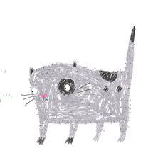 A grey cat lorna scobie
