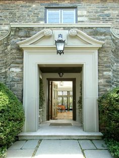 Grand entrance! love the big door and the openness of it all