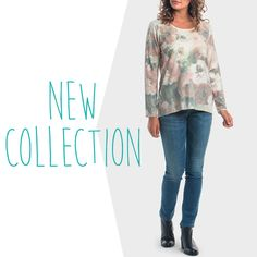 Nueva Colección - Jersey de flores y strass New Collection - Knitted jersey with strass detailhttp://bit.ly/JerseyFloresPunt #puntroma #newcollection