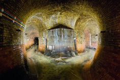 Photo: Tunnels containing River Fleet under London