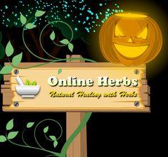 Healthy Halloween http://blog.onlineherbs.com/make-your-halloween-healthy-and-spooky-with-onlineherbs/