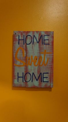 Hey, I found this really awesome Etsy listing at https://www.etsy.com/listing/213622946/home-sweet-home-pallet-art-rustic-pallet