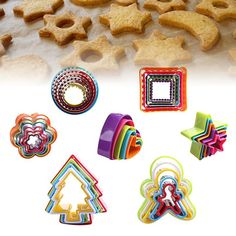 2 Pcs Packed Round bottle cap Shaped Biscuit//Cookie//chocolate Mold Mould Baking