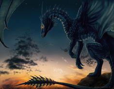 """dragonspiritblog: """"Art by weremoon """""""