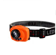 Headlamp LED Headlight Flashwolves Cree LED Headlamp Adjustable Headband FlashLight with Sensor Control 2.4 Ounce waterproof (AAA Battery Not Included) *** Want additional info? Click on the image.