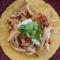 Pressure Cooker Chicken Tacos (Tinga de Pollo) - Dad Cooks Dinner