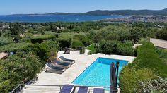 St Tropez et environs, Villa de vacances avec 5 chambres pour 10 personnes. Réservez la location 1490055 avec Abritel. Vue mer panoramique grandiose à couper le souffle!!