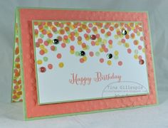 Dotty Angles With Sequins Stampin' Up!