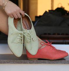 oxford - sapatos femininos - colors - cores - inverno 2015 - Ref. 15-8202 | 15-8201