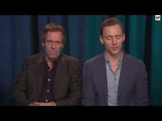 Tom Hiddleston and Hugh Laurie - The Night Manager interview Hugh Laurie, Benedict Cumberbatch, Tom Hiddleston, Future Husband, Loki, Interview, Management, Celebs, Night