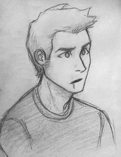 Jason Grace. Only problem with this is the scar is supposed to be on his upper lip.