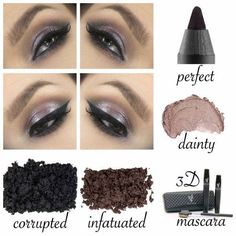 Try these amazing YOUNIQUE products to get this gorgeous eye!  Use Younique's Moodstruck Precision Eye Pencil in PERFECT, Splurge Cream Eye Shadow in DAINTY, Moodstruck Mineral eye pigments in CORRUPTED and INFATUATED. and of course our 3D FIBER LASH mascara for this neat eye tip! Be sure to click on the picture to visit my website to purchase your PRISTINE eye pencil and 3D Fiber Lash Mascara today!! Remember our 'Love It' guarantee! www.youniqueproducts.com/naturalbeautifulyou #younique