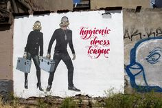 FRESHWOUNDS is pleased to announce the newest addition to our family of street artists, Hygienic Dress League . Here is a link to their gallery http://freshwounds.com/product-category/hygienic-dress-league/