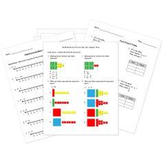 Printables K-12 Math Worksheets k 12 math tests and worksheets for printable or online assessments free algebra worksheets