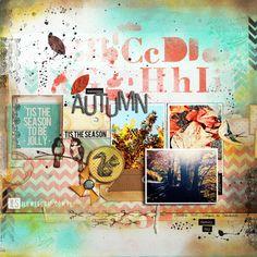 I {lowe} SCRAP :: 'Summer Dreamer' :: by Karine Cezenave-Tapie