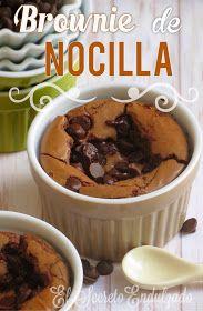 El Secreto Endulzado: Brownie de Nocilla Rápido