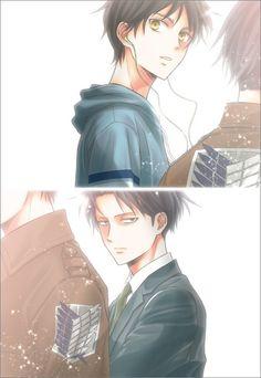 Eren & Levi | Shingeki no Kyojin #manga