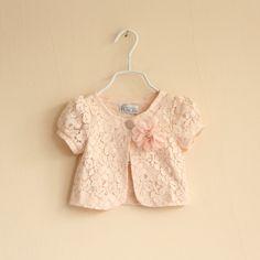 2013 summer children's clothing female child lace shrug cape $28.90