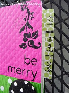 Mini notebook for Christmas info