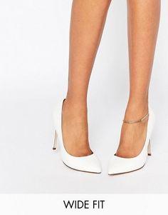 Zapatos de punta de ancho especial PLAYFUL de ASOS