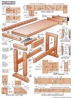 Töölaud #1775 DIY Workbench - Workshop Solutions Plans, Tips and Tricks