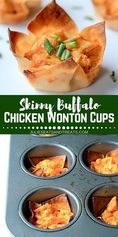 Looking For Easy Wonton Wrer Recipes Your Holiday Etizer Try This Skinny Buffalo En