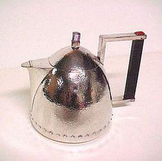 Josef Hoffmann (Austrian, 1870–1956). Teapot, ca. 1910. The Metropolitan Museum of Art, New York. Cynthia Hazen Polsky and Leon B. Polsky Fund, 2000 (2000.278.1)