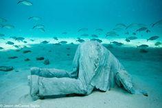 under water prayer