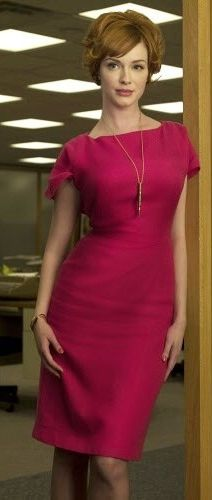 Christina Hendricks on MAD MEN |= This would still work today!