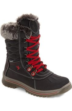 Santana Canada 'Maldine' Waterproof Hiker Boot (Women) available at #Nordstrom