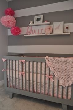 @Allison j.d.m Doane I kinda like the stripe walls with chevron accents......I think we can pull it off!