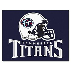 Fanmats NFL Tennessee Titans Nylon Rug  https://allstarsportsfan.com/product/fanmats-nfl-tennessee-titans-nylon-rug/  9 ounce, 100 % nylon face Recycled vinyl backing for a durable and longer-lasting product Machine made and tufted in the USA