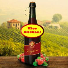 Ein herrlich fruchtiger Geschmack frischer Erdbeeren zeichnet diesen Perlwein auf Schaumweinbasis aus. Hier klicken: http://blogde.rohinie.com/2013/01/prosecco/ #Italien #Prosecco #Spumante #Fragolino #Erdbeere