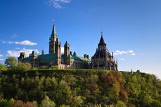 Parliament Hill, Ottawa- Business trip and site seeing.
