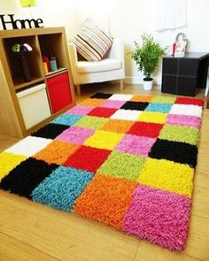 Diy Craft Journal Diy Carpet Rugs On Carpet Proddy Rugs Knit Rug Pom Pom Rug Weekend Crafts Latch Hook Rugs Loom Knitting Diy Home Crafts, Diy Crafts To Sell, Tie Crafts, Fabric Crafts, Tapetes Diy, Homemade Rugs, Knit Rug, Pom Pom Rug, Crochet Carpet