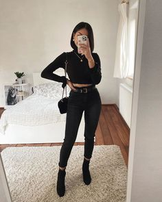 January 07 2020 at fashion-inspo Cute Comfy Outfits, Casual Summer Outfits, Stylish Outfits, Girly Outfits, Winter Fashion Outfits, Look Fashion, Fall Outfits, Girl Fashion, Fashion Fall