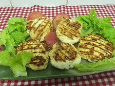 Emagrecendo Receitas: Hambúrguer de frango(caseiro)